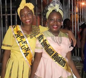 Two Belizeans Win Runner Ups in Garifuna Pageant in Guatemala