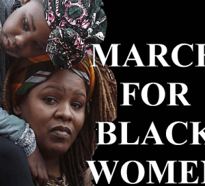 Black Women March in Washington DC