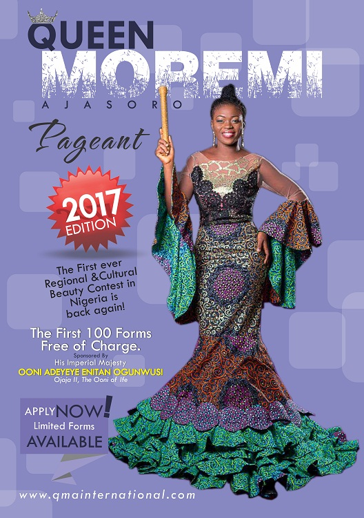 Register For Queen Moremi Pageant