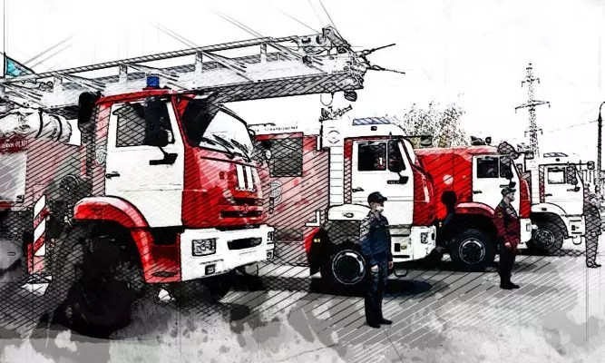 Oryol firefighters received new equipment