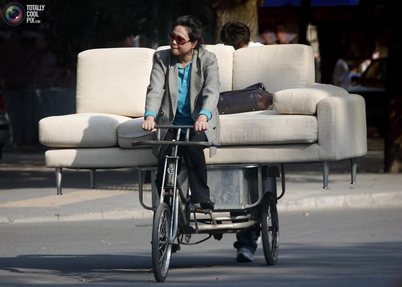 Пекин, перевозка дивана