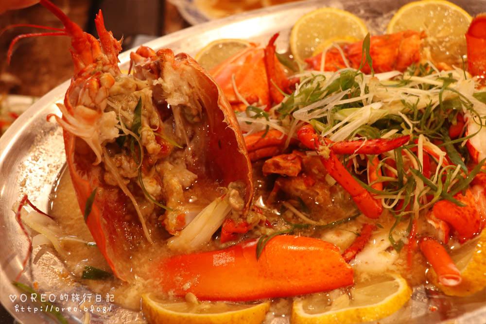 食記。土城~漁川火烤海鮮~波士頓龍蝦6種吃法~焗烤起士干貝蛋好好吃~