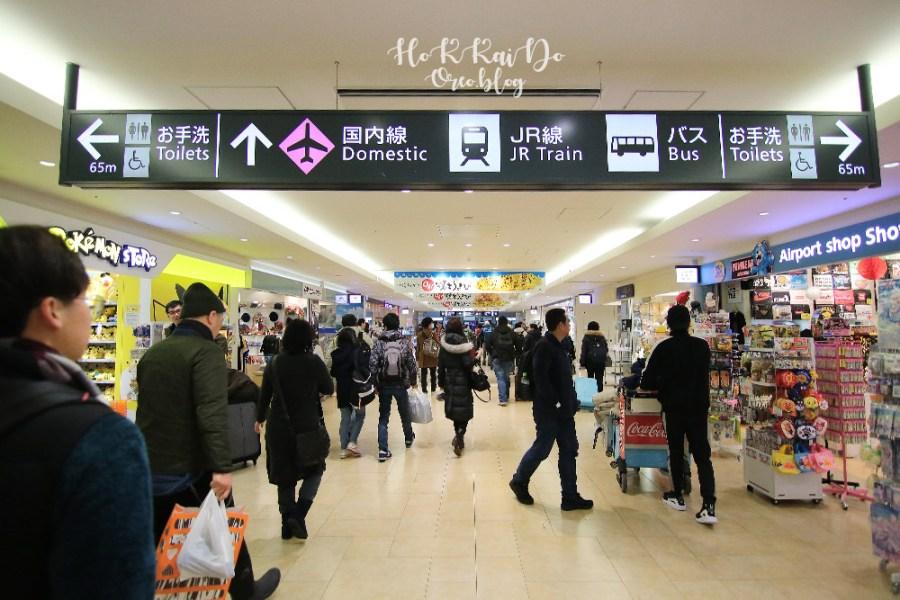 北海道新千歲機場到札幌交通~如何搭JR到札幌/小樽市區~機場JR PASS換票地點