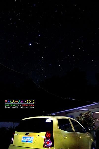 巴拉望夜拍星星紀錄~我在巴拉望數星星的日子