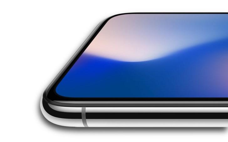 iPhoneXメタルフレームの写真