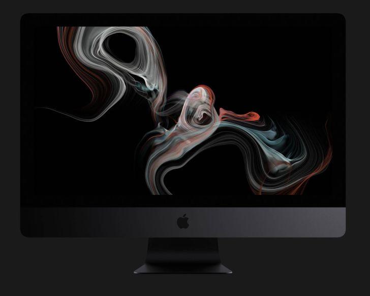 iMac Pro GPUグラフィックスの写真