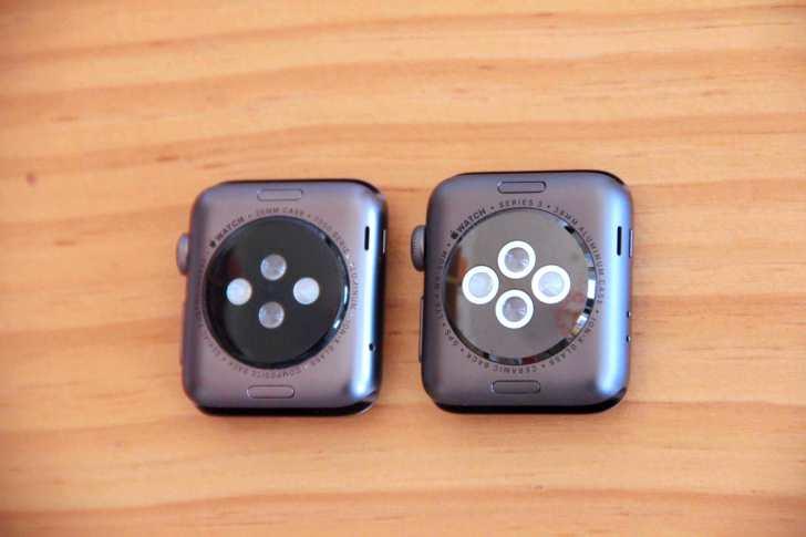 Apple Watch 背面裏蓋デザインの写真