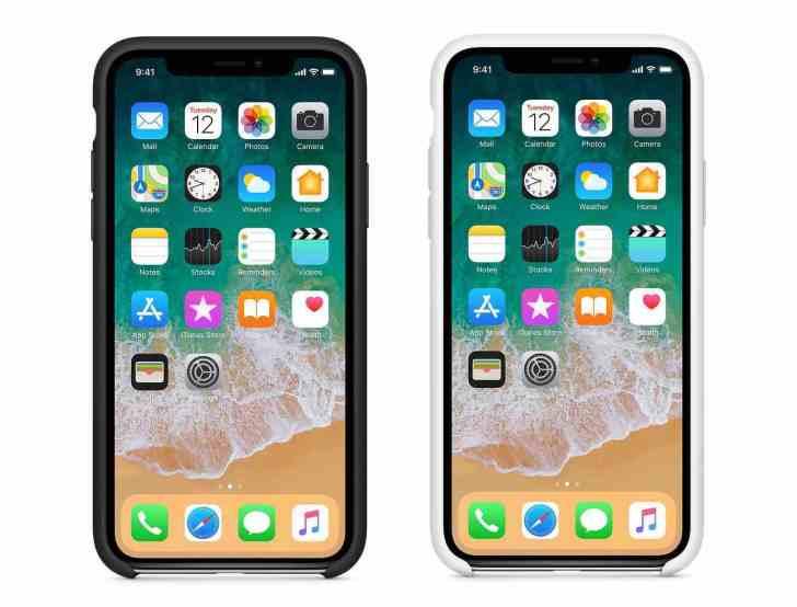 iPhoneX全面オールディスプレイについての写真