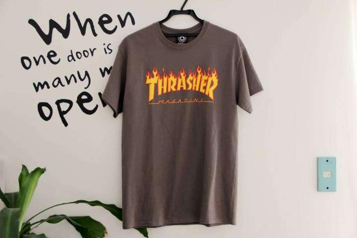 THRASHER Tシャツの画像