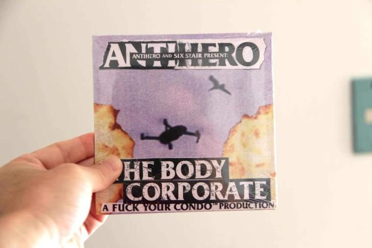 ANTIHEROのDVDの画像