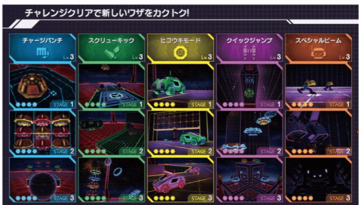 Nintendo Labo Robot Kit (ロボットキット)チャレンジモードの画像