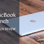 MacBook12インチの開封の義と使用レビューの記事のアイキャッチ画像2
