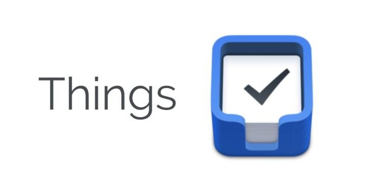 タスク管理アプリThingsの画像