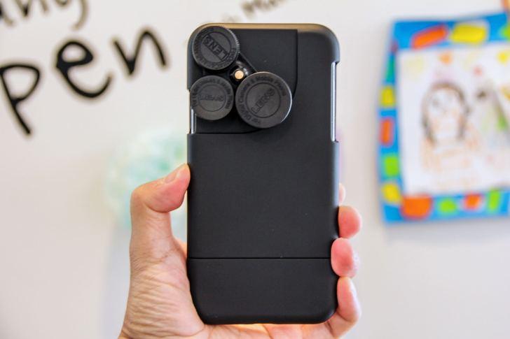 iPhone X カメラレンズキットケース