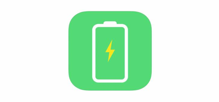 バッテリーケア アプリの画像