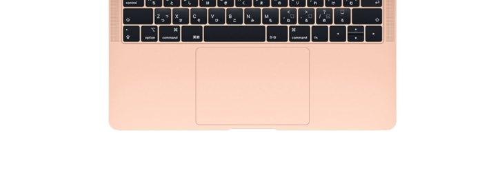 新型MacBook Air トラックパッド