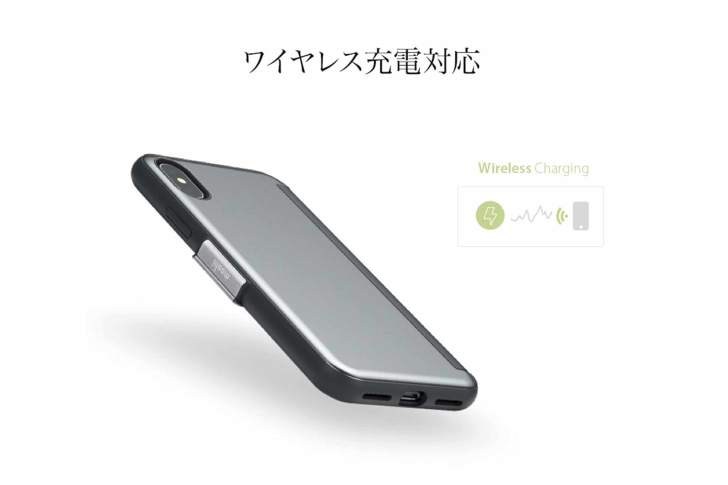 moshi StealthCover ワイヤレス充電対応