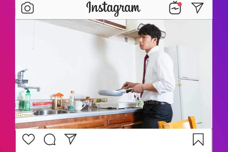 料理をしている人 イメージ