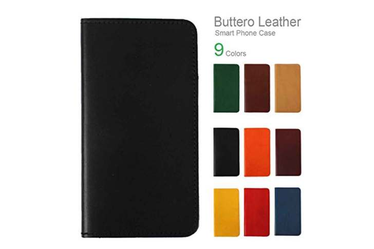 [BRAND-H2]-iPhone11-Pro-Buttero-Leather-Notebook-Type-Case