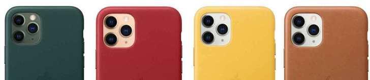iPhone11-Pro-Apple-Leather-Case-color