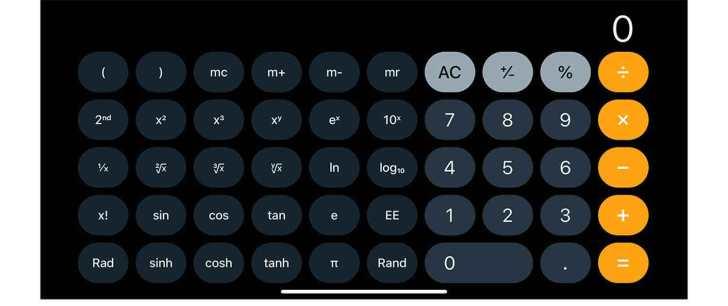 iPhone-calculator-functions