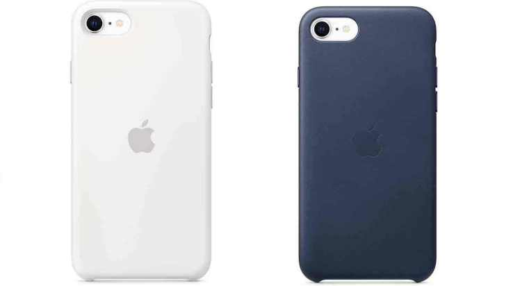 iphone-se-Silicon-leather-case