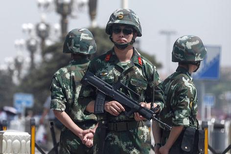 Tiananamen-Ausstellung