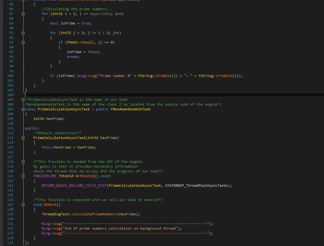 Implementing multithreading in ue4 orfeas eleftheriou in this post were going to see how easy it is to achieve multithreading inside ue4 using c taken directly from the corresponding wikipedia page malvernweather Image collections