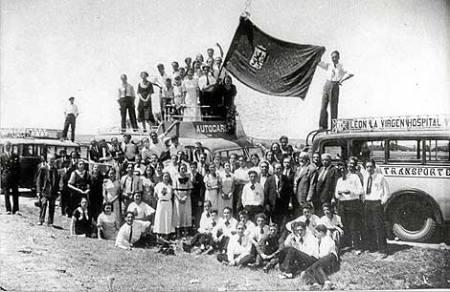 Estreno Himno a León 25-07-1934