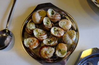 When Darina was 18 she worked as an au pair in France and was given this snail dish as a present