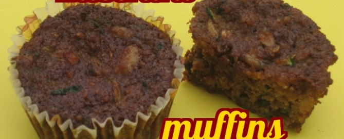 Moist and sweet, these zucchini muffins are a great portable snack.