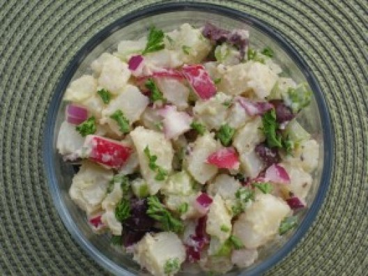 Potato salad that disappears quickly.