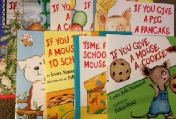 """If you give"" is a serie of fun children books."