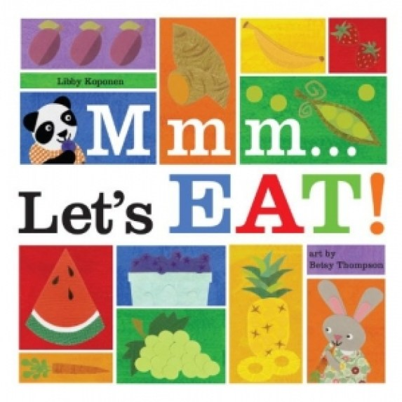 Mmm let's eat is a fun book about foods and their colors.