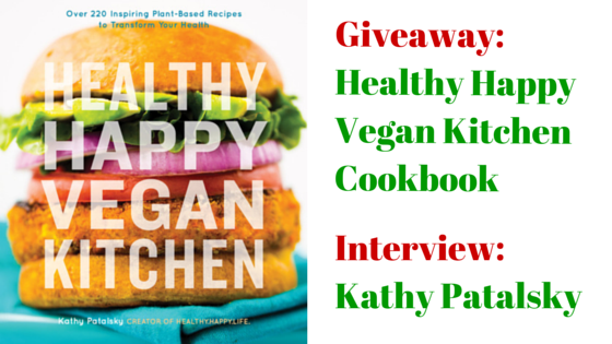 Healthy Happy Vegan Kitchen cookbook cover