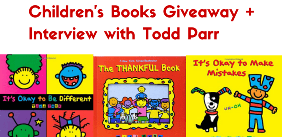 Interview and giveaway with Todd Parr, children's books author