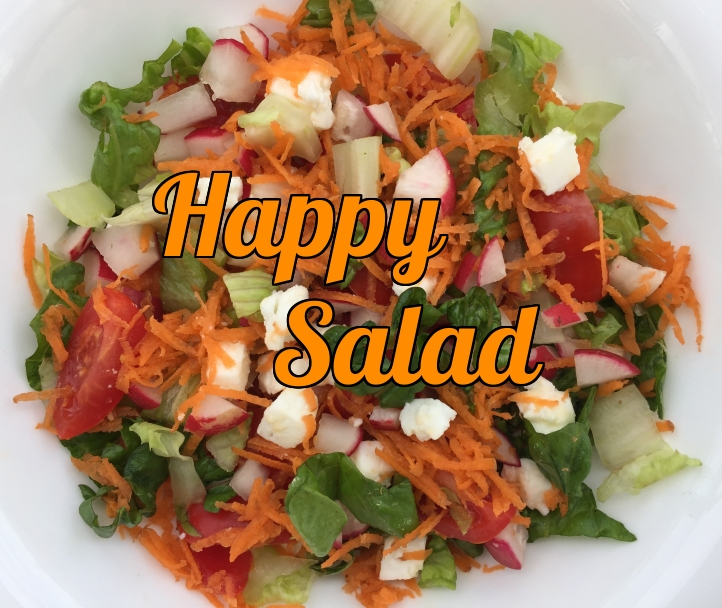 The Happy Salad that tastes amazing.