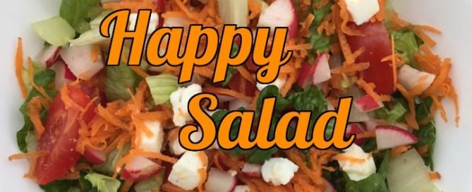 The Happy Salad that tastes amazing.