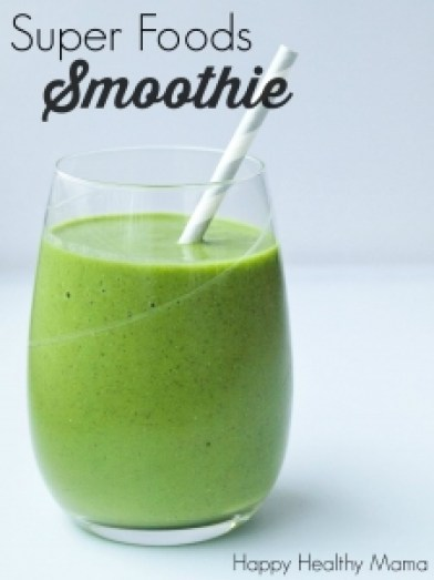 Super foods smoothie by Maryea