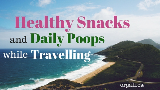 Healthy snacks and daily poops