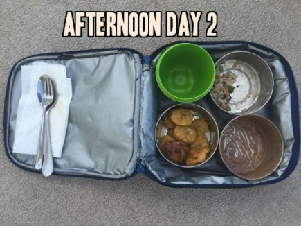School lunch day 2 afternoon