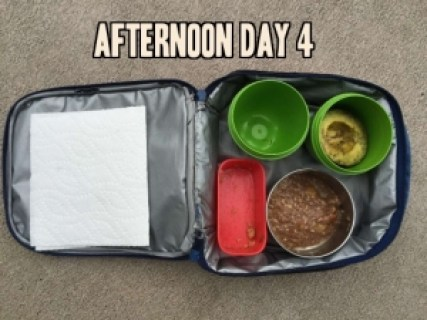 School lunch day 4 aternoon