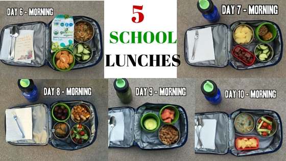 5 gluten-free and dairy-free school lucnh ideas