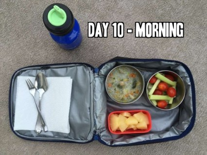 Day 10 school lunch idea