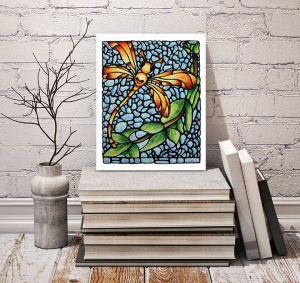 Giveaway - Dragonfly print