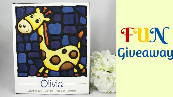 Fun giveaway: custom art print for your child's nursery