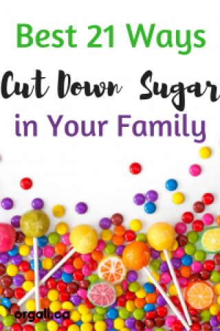 Easy ways to cut down sugar