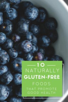 Gluten free foods list by Jenny Finke