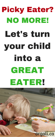 Picky eater no more