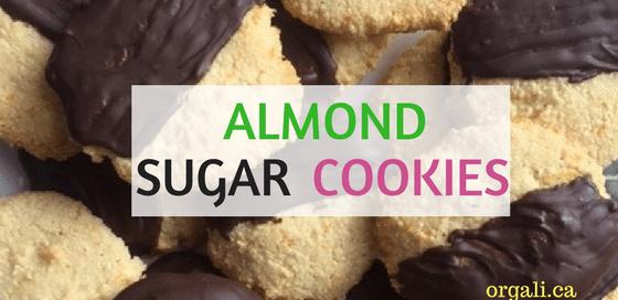Delicious Almond sugar cookies